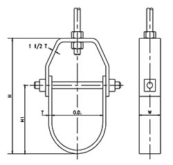 Pipe Hangers illustration